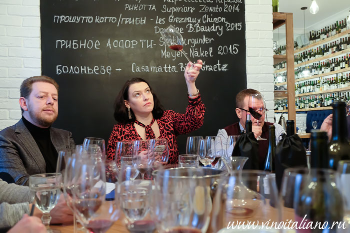 «Родственные души Тосканы» от Zonin. Sommeliers Themed Lunch